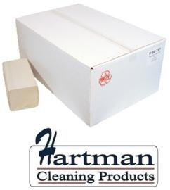 205P50791 - Euro Papieren handdoekjes recycled papier 1-laags Z-vouw 20 x 250 stuks