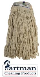 991743 - SYR CHSA PY Kentucky katoen garen vloermop 341 gram in gesneden uiteinde kleurcode strips