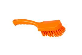 31430112-7 - FBK Handborstel kleurcode HACCP hoogwaardig harde vezel, 275 x 70 mm oranje 10548