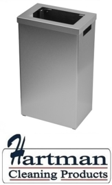 S3400571 - Sanfer afvalbak 22 liter RVS