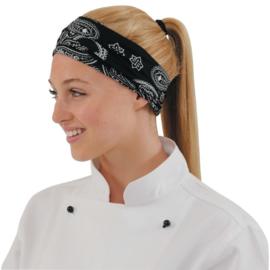 A289 - Buff hoofddoek cashmere zwart Artikelnummer: A289