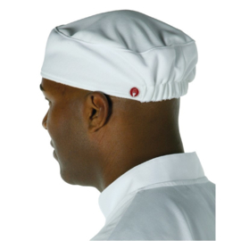 A977 - Chef Works coolvent unisex cap wit