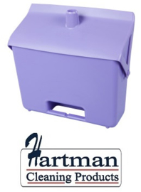 400101101-8 - FBK Hotelstofblik hoogwaardige kleurcode hygiënische polypropyleen paars 80201