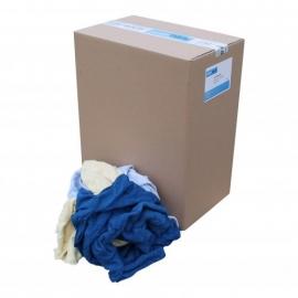 P13220 - Poetslappen, gewassen badstof, hoeslakens 10 KG