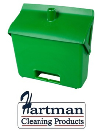 400101101-5 - FBK Hotelstofblik hoogwaardige kleurcode hygiënische polypropyleen groen 80201