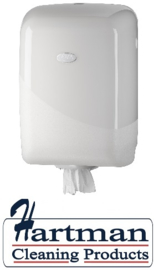 431104 - Europroducts Poetsroldispenser Midi Pearl White