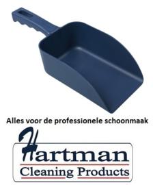 913141016-2 - FBK Hoogwaardige handschep polypropyleen 500 gram 100 x 260 mm metaal detecteerbaar blauw 75105
