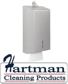 GJ032 - RVS toilettissue dispenser JANTEX