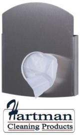 PR50843 - Hygienezakjes damesverband dispenser, RVS EURO Products