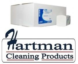 220070 - Interfold handdoekpapier 2-laags verlijmd 100% cellulose 32x22 cm - 20 x 160 st p/ds