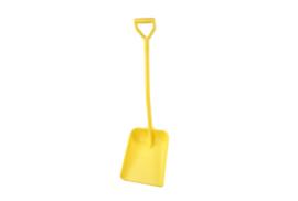 710100102-4 - Schop FBK hoogwaardige kleurcode ergonomische hygiënische polypropyleen 330 x 380 x 1120 mm geel 14104
