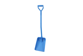 701100101-2 - Schop FBK hoogwaardige kleurcode hygiënische polypropyleen 270 x 340 x 1120 mm blauw 14103