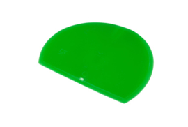 62880117 - Hoogwaardige kleurcode HACCP hygiënische deegschraper 160 x 125 mm groen
