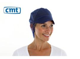 816171 - CMT PPnw pet met klep haar opvang d.blauw 'snood cap