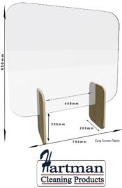 DW898 - Bolero Easy Screen baliescherm licht eiken 85 x 75cm