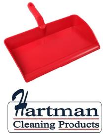 80090105-3 - FBK Stofblik ergonomisch hoogwaardige kleurcode HACCP hygiënische polypropyleen 300 x 310 mm rood 80301