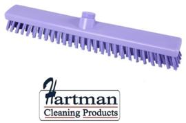 33210102-8 - FBK HACCP kleurcode schrobber met harde vezels geschikt voor hardnekkige reiniging van vloeren en wanden 400 x 50 mm, hard, paars 21153