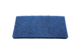 80870105 - FBK Schuurpad 250 x 120 x 25 mm , medium hard , blauw 15124