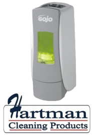 P8784-06 - Gojo foam soap dispenser, wit/grijs