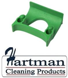 710102108-5 - FBK Klem voor wand railophangsysteem kleurcode HACCP ø 28 - 38 mm groen 15151