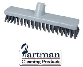 32510104-11 - FBK HACCP kleurcode schrobber met harde vezels geschikt voor hardnekkige reiniging van vloeren en wanden 300 x 60 mm, hard grijs 23153