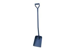 400141027-2 -Schop detecteerbare FBK hoogwaardige kleurcode hygiënische polypropyleen 270 x 340 x 1330 mm blauw 75103