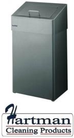 S909700 - Santral classic hygienebak met gesloten inwerpklep 18 Liter
