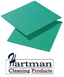 CD814 - Spongyl sponsdoekje groen 10 stuks