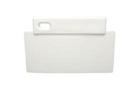 38180106-1 - FBK Spatel hoogwaardige kleurcode 200 x 125 mm polypropyleen wit 81900