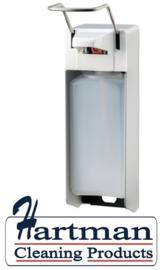 2110901 - Zeep- & desinfectiemiddeldispenser aluminium 500 ml KB, MediQo-line MQ05A