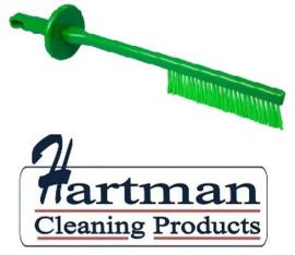 10030147-5 - FBK Cutterbostel hoogwaardig kleurcode HACCP 510 x ø 100 mm, harde vezel , groen 50155