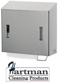 S1419947 - Santral Zeep - Handdoekdispenser classic met asluitbare 1200ml zeep. Type CPU 2RE