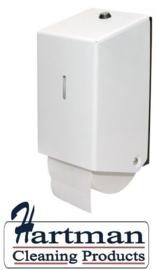 438011 - Euro matic doproldispenser voor 2 toiletrollen met dop EURO Products
