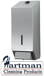 438290 - Zeepdispenser 1 liter navulbaar, RVS EURO Products