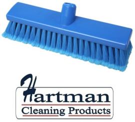 200161007-2 - FBK Inwasborstel waterdoorlatend FBK hoogwaardige kleurcode HACCP hygiënische polyester 300 x 60 mm gespleten vezel zacht blauw 24106