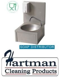 ST5LM3-DSS - Handwasbak met zeepdispenser 500 ml