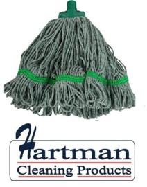 920137 - SYR mop, midi kleurgaren , diameter 43 cm Groen