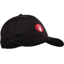 A976 - Cool Vent baseball cap zwart