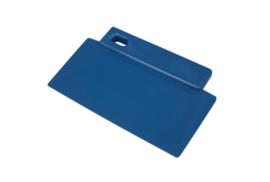 421141012 - Spatel polypropyleen kleurcode HACCP Metal + X-Ray dedecteerbaar 200 mm x 125 mm blauw