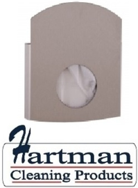 4066 - RVS Hygiënezakjesdispenser (plastic & papier) WINGS