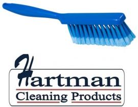 40530102-2 - Handveger FBK gespletenvezel kleurcode HACCP 340 x 35 mm ,zacht blauw 10253