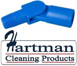 80027200-2 - FBK Hoogwaardige kleurcode HACCP hygiënische zwenkkoppeling univerzeel blauw 27200
