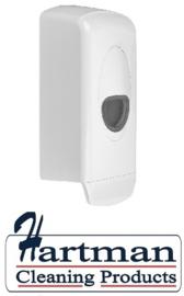 3262 - Foamzeepdispenser 1000 ml kunststof navulbaar wit PlastiQline
