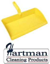 80090105-4 - FBK Stofblik ergonomisch hoogwaardige kleurcode HACCP hygiënische polypropyleen 300 x 310 mm  geel 80301