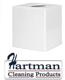 DA604 - Witte vierkante tissue box voor vierkante tissue CF204