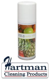 490766 - Luchtverfrisser Aerosol, Exotic Fruit 12 x 100ml vullingen per doos EURO products