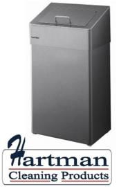 2301063 AFP-C - RVS AFP-C hygiënebak 18 liter, HBU 18 E SANTRAL