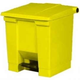 K806 - Rubbermaid afvalcontainer geel 30.5ltr