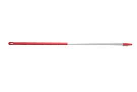 91160102-3 - FBK Steel Ergonimic handvat aluminium 1300 x 32 mm kleurcode HACCP rood 29813