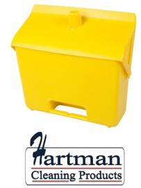 400101101-4 - FBK Hotelstofblik hoogwaardige kleurcode hygiënische polypropyleen geel  80201